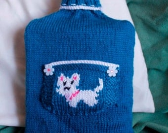 Westie Hot Water Bottle Cover