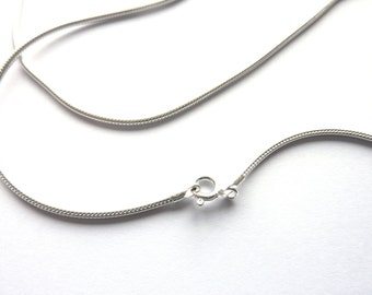925 silver chain snake with clasp 40.5 cm NSC0013-16  inches