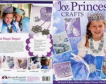 Ice Princess Crafts Magazine__capes_braclets_DIY party fun