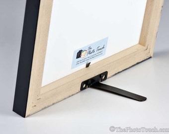 Picture Frame Easel Back - EaselMate - Easel for Photo Frames up to 11x14 - Frame support stand diy framing 4x6, 5x7, 8x10, 8.5x11