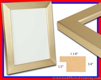 large gold photo frame 125 wide gold picture frame flat epp eco friendly 18 x 24 20 x 24 20 x 30 22 x 28 24 x 36 custom sizes