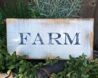 Vintage style Farm sign