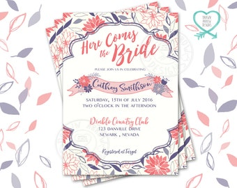 Daisy May Bridal Shower Invitation