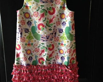 This cute summer dress is going to be cool and sweet on any little girl in .. Size 4