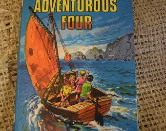 Enid Blyton's The Adventurous Four. Dean and Son reading book