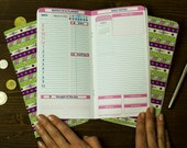 Planner 2018 Set of Three Notepads 64 Pages Each Any Three Months 2018  Travelers Refills Inserts Planner Journal Fauxdori Inserts