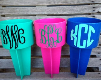 Monogrammed Beach spiker *Sale BOGO 50%off*
