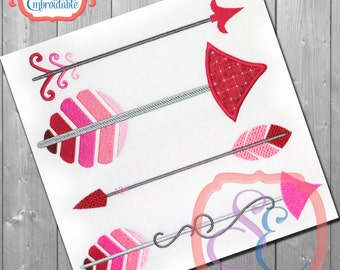 Just Arrows Set 1  - For Machine Embroidery -  INSTANT DOWNLOAD
