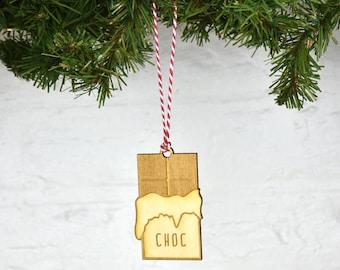 Emoji Chocolate Christmas Decoration [EMJIDEC-012]