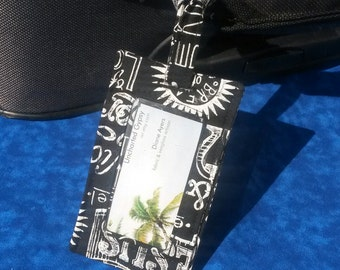 Christian Luggage Tag