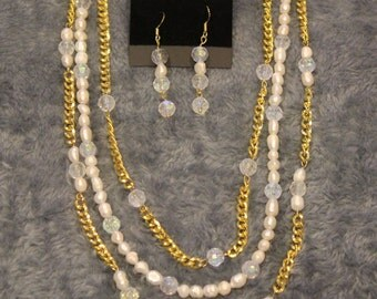 Necklace and Earring Set - Item No. 15