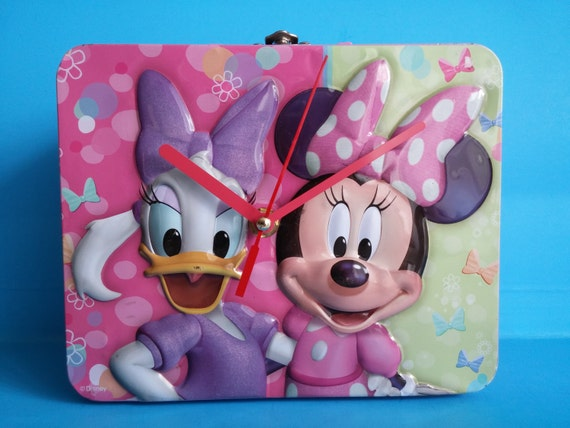 Sale Disney Minnie Mouse & Daisy Duck Lunch Box By