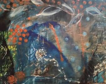 Modern Abstract art, wall painting, Calming Palette, Wall Decor, Decorative Zen Art