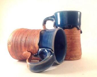 Pottery Mug Set, Ceramic Mug, Large Handmade Mugs