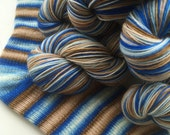Hand dyed self striping merino sock yarn - Would You Like Me To Lie To You Now?
