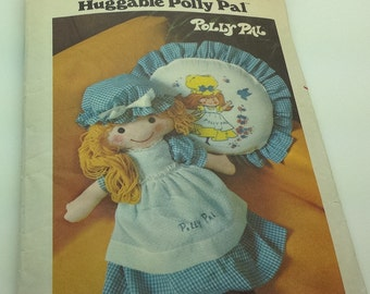 Butterick 4519 Huggable Polly Pal Gingham Doll Soft Doll Clothes Pillow
