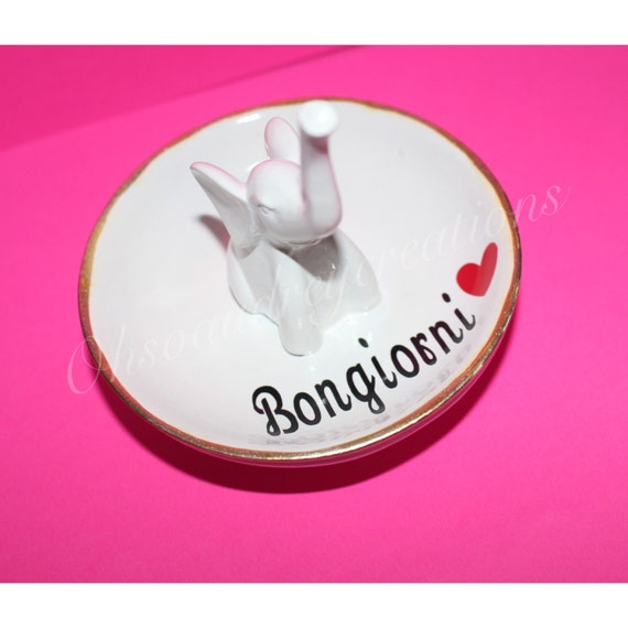 ring holder, wedding gift, cute ring holder, personalized ring holder ...