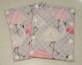 Strap Covers, Pram Strap Covers, Car Seat Strap covers, Feathers, A H Baby Boutique