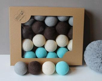 Cotton Balls Lazurove 20 items