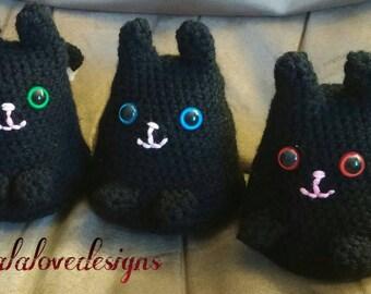 Buy 2 get 1 free, crochet dumpling kitty