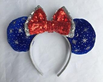Sorcerer Mickey Fantasmic Fantasia Inspired Ears