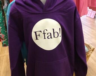 Welsh Language Hoodie - Ffab!