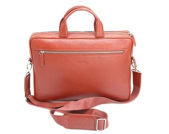 Messenger Bag - Tan Leather