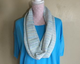 Handwoven Cotton Infinity scarf