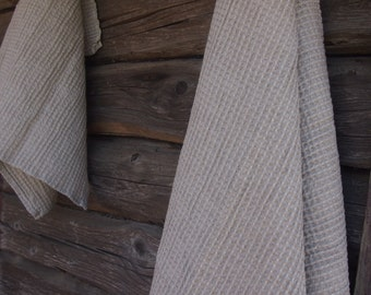 Linen Towels Set, 2 Linen/Cotton Bath Towel, Eco Linen Towel, Linen Towel, Linen Gift