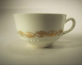 Vintage Royal Queen Ann First Quality 22KT Gold China Tea Cup