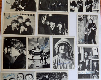 1964 Beatles 2nd Series Trading Cards (16 cards), Beatle Cards, Fab 4 Memorabilia, The Beatles, John Lennon, Paul McCartney, George Harrison