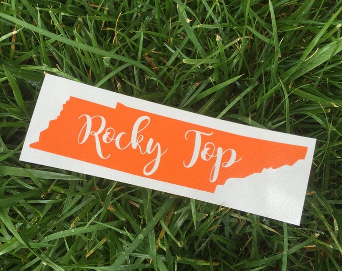Rocky Top Tennessee Decal