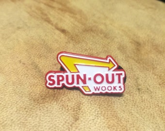 Spun-Out Wooks Hat Pin