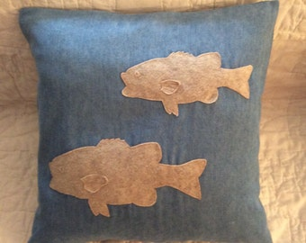 Largemouth Bass Pillow COVER