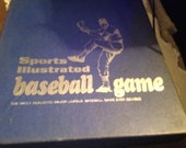 Quite vintage (c.1971) and very RARE first issue of Sports Illustrated Baseball board game published by S.I. owner Time, Inc. Complete.