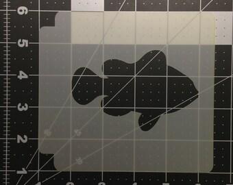 Fish 101 Stencil