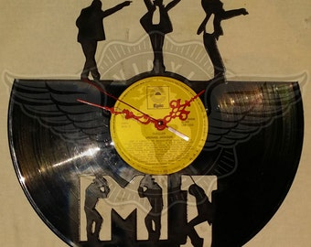 Vinyl wall clock MICHAEL JACKSON