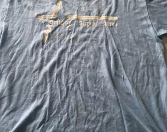Vintage 70s Baclor Super Stars T Shirt