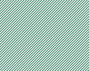 Emerald Green Diagonal Lined Cardstock Paper