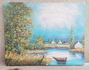 Lovely French painting on canvas