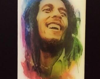 Bob Marley Wax Candle