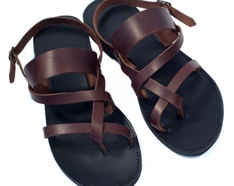 Delightful Strappy Men Sandals, Sandals, Leather Sandals, Mens Leather Sandals