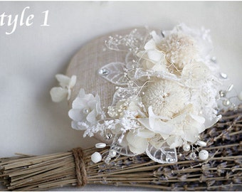 Wedding Hat with Poeny Flower, Bridal Headpiece, Hat for Wedding, Off White, Wedding Fascinator