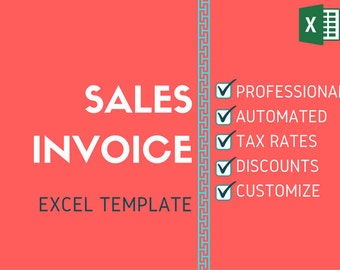 Sales Invoice Excel Template