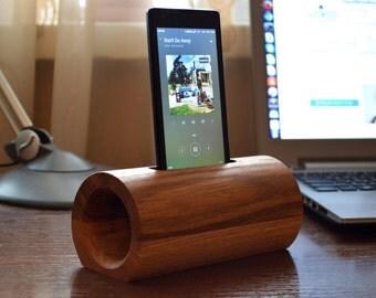 Wooden phone speaker / iPhone speaker / Samsung speaker / Motorola speaker / iPhone loudspeakers / iPod touch speaker