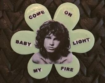 Jim Morrison Pin (Large)