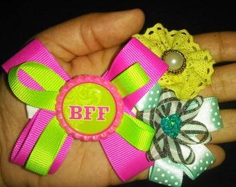 Bff hair bow