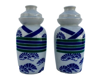 Vintage Pair Sauce Container/Vase **FREE SHIPPING**