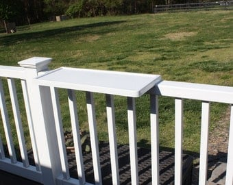 New Patio Deck Rail & Fence Shelf