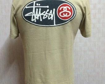 Vintage STUSSY Tshirt Small Size